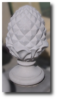 Cast Stone Pineapple