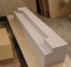 cast stone and concrete window sills