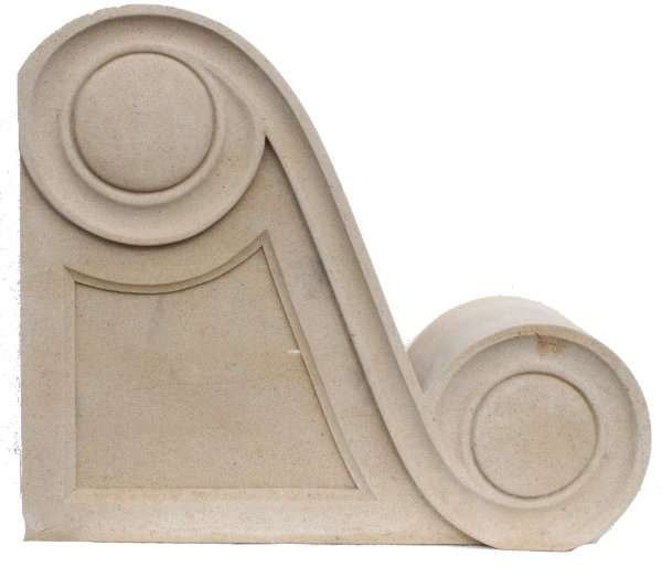cast stone corbels and brackets